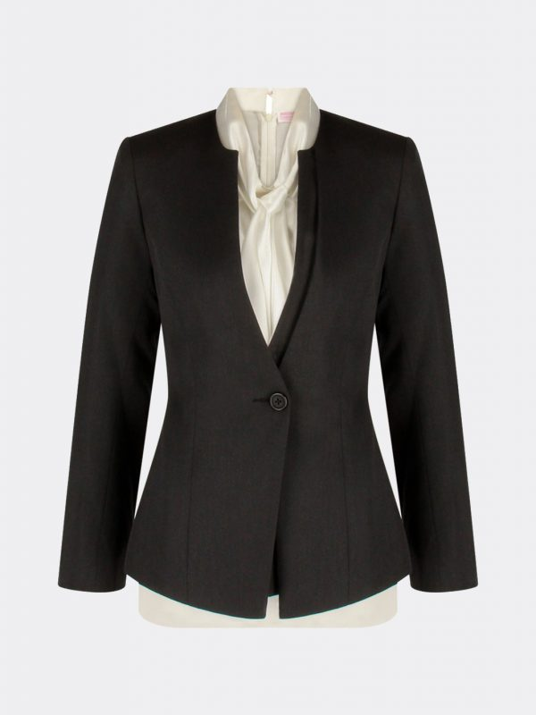 Bank Uniform Female Business Suit Consultant Executives Blazer Suit