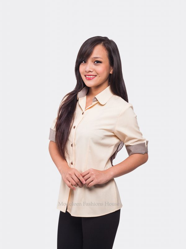 Hostess Restaurant Cafe Manager Waiter Waitress Blouse
