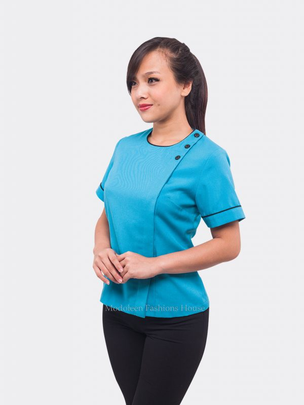 Hotel Services Country Club House Keeping Room Attendant Blouse