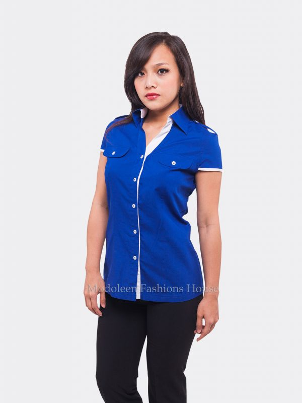 Automobile Sales Representative Customer Service Blouse uniform