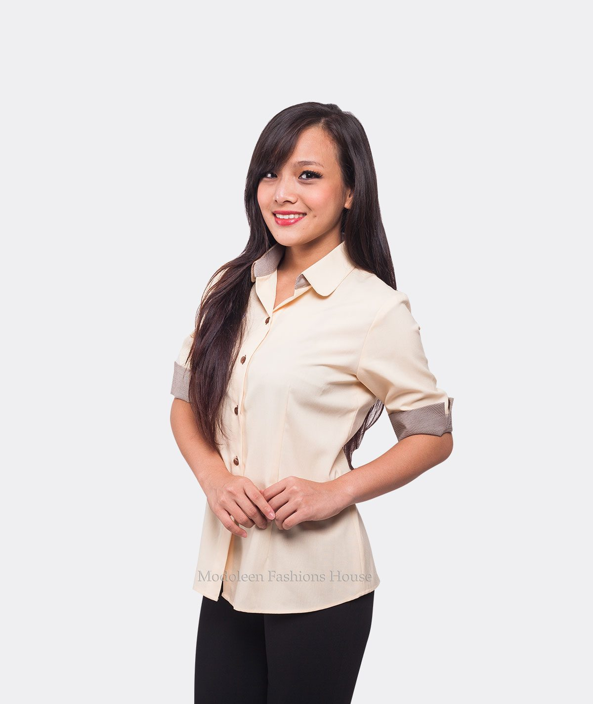 Hostess Restaurant Cafe Manager Waiter Waitress Blouse uniform
