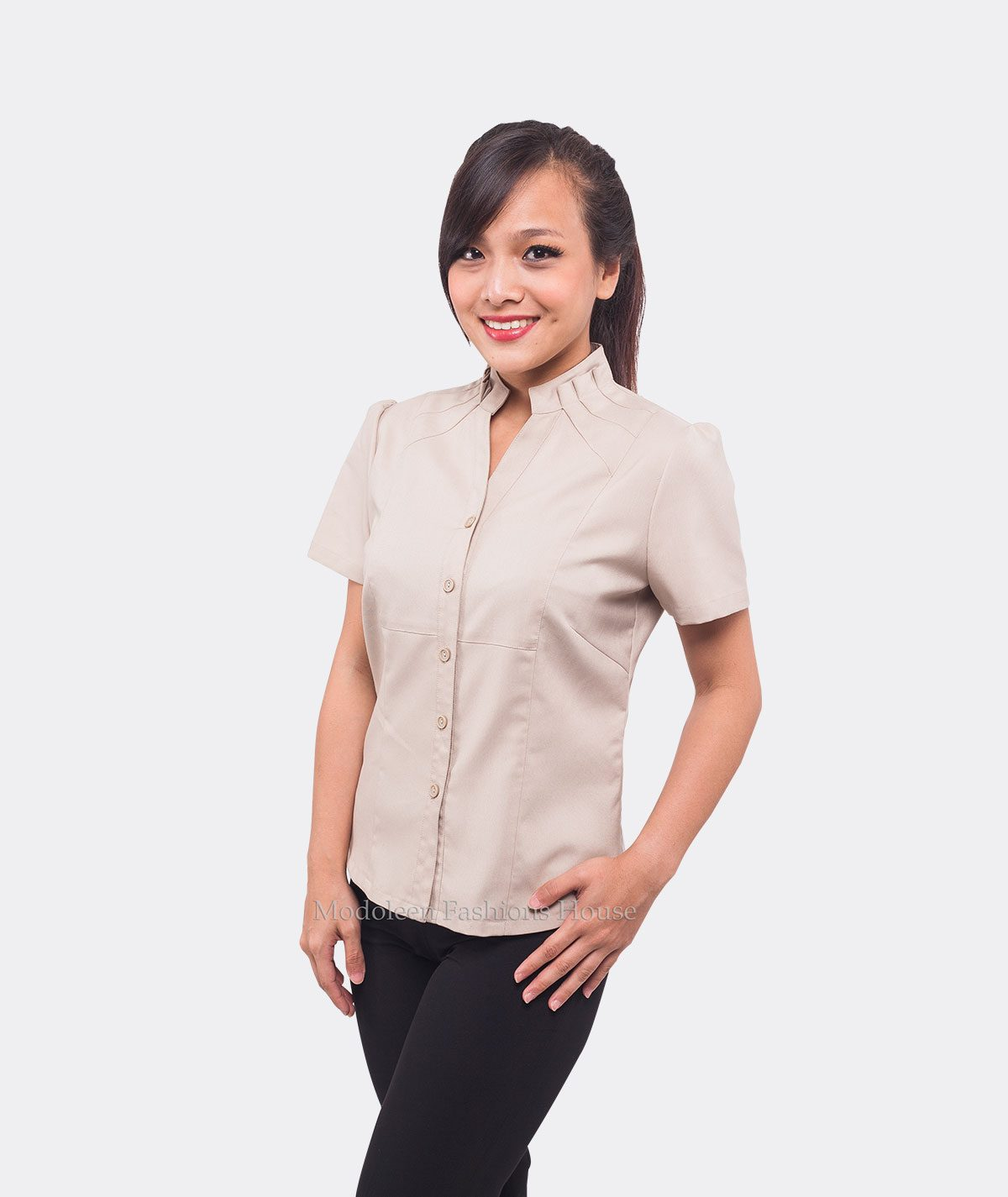 Hotel Services Country Club House Keeping Room Attendant Blouse uniform