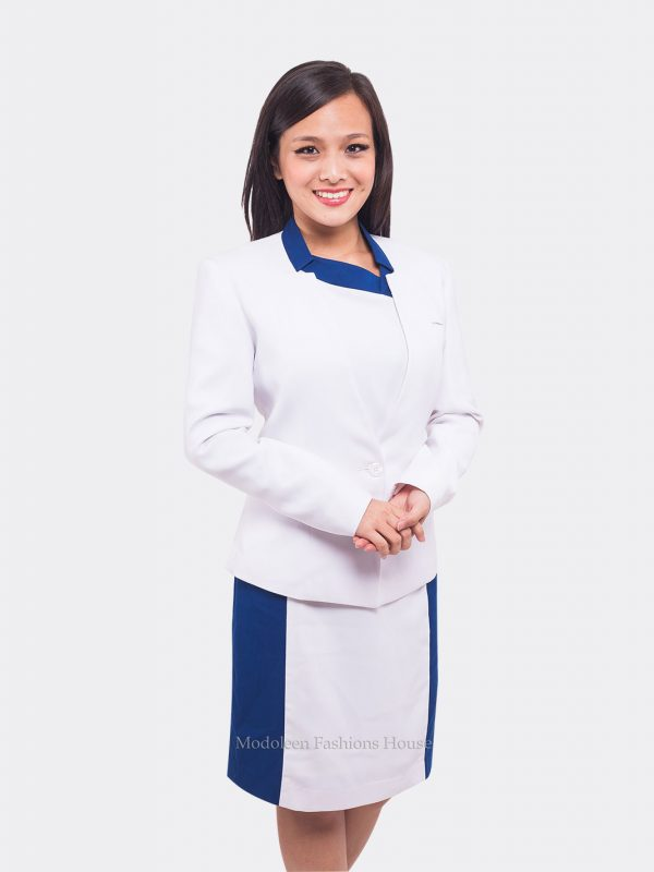 Cosmetic Spa Beauty Advisor Consultant Therapist Dress uniform