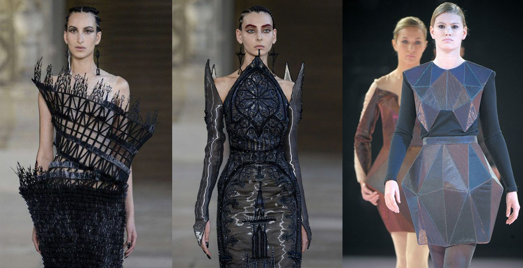 runway haute couture fashion inspiration images references fashion design architecture inspired
