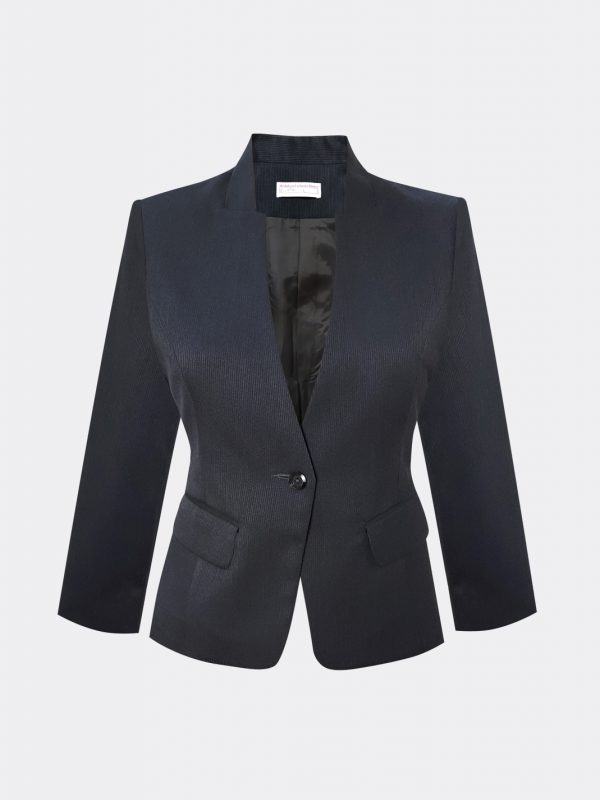 front-office-mandarin collar-jacket-uniform-stand-collar-jacket-bank-uniform