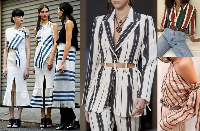 Stripes fashion reference for uniform workwear