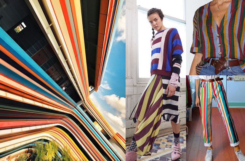 style inspiration stripes and vertical lines