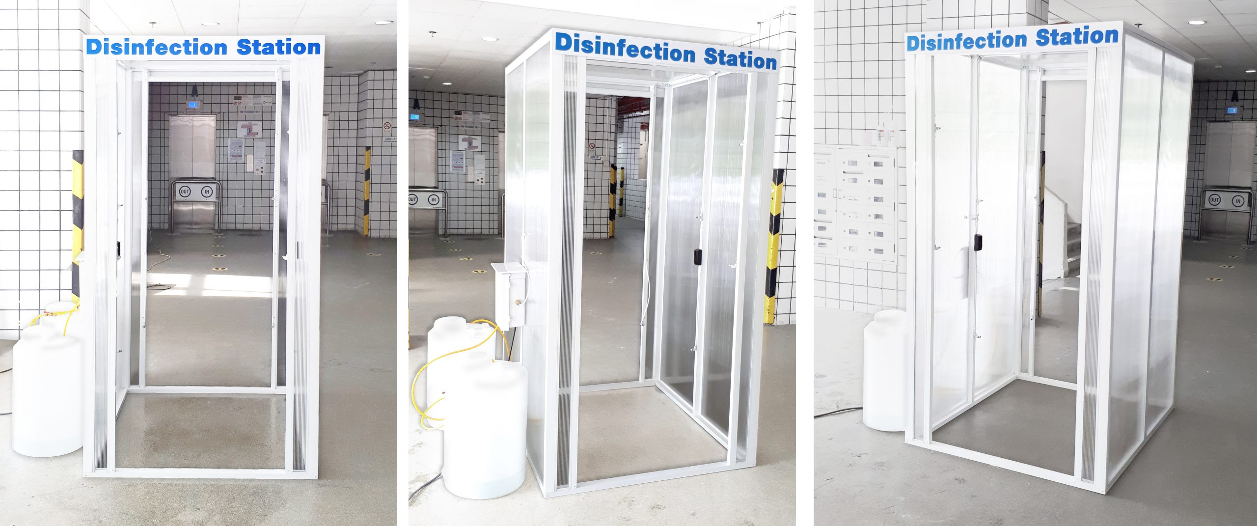Disinfection chamber disinfection station singapore disinfection tunnel website image anti covid R